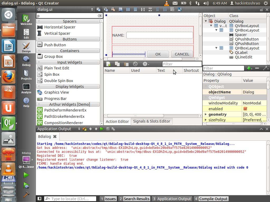 My simple Qt creations in GNU/LINUX – hackintoshrao