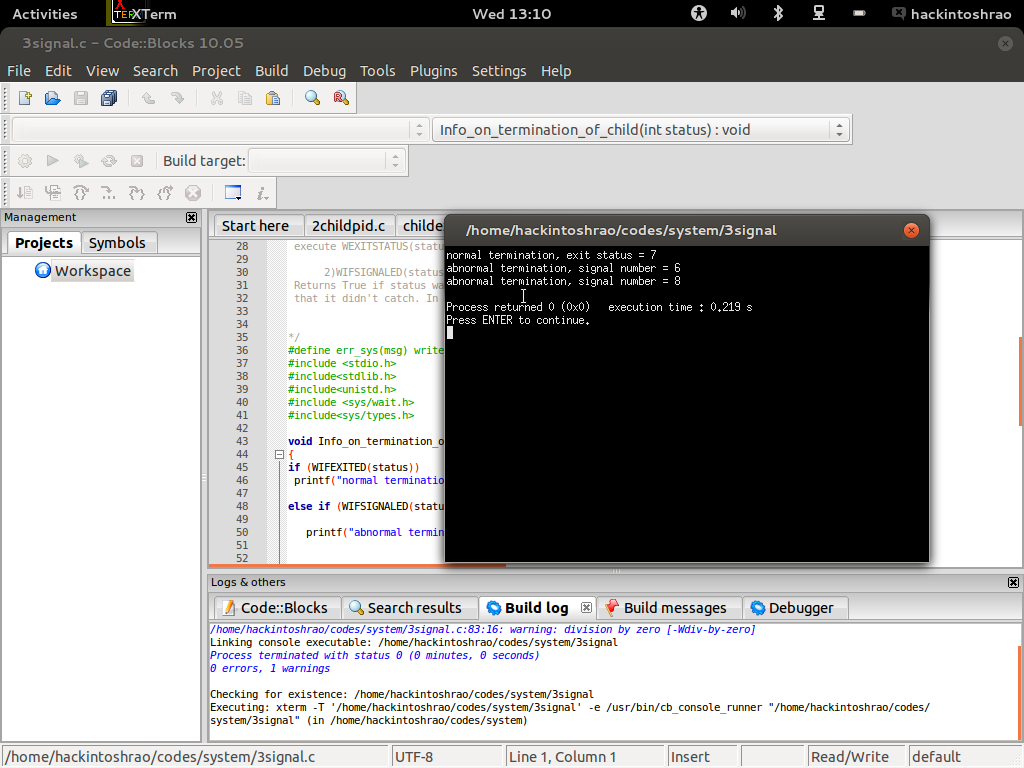 System Programming in GNU/LINUX – hackintoshrao