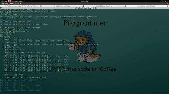 Open ssl client